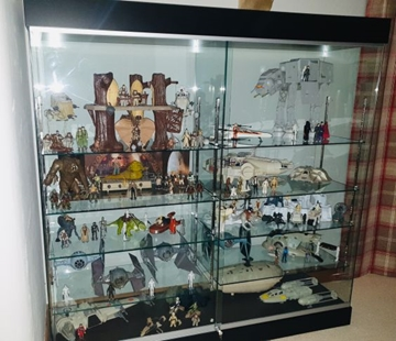 Marvel Collectors Cabinets for Home or Office