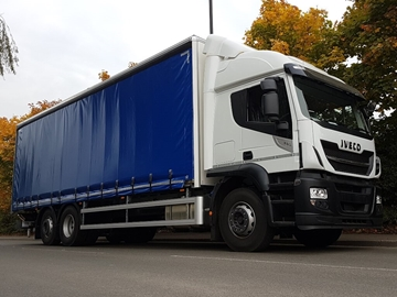 Curtain Side Bodies for Lorries