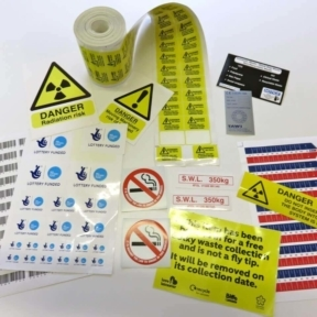 Health and Safety Warning Sticker Manufacturers