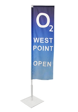 Retail Shops Pavement Feather Flags Supplier