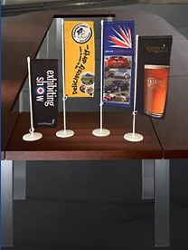 Exhibition Stands Table Top Flags Supplier