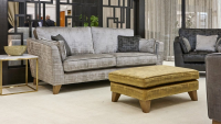 Alpha Designs Vincent 3 Seater Sofa And Chair
