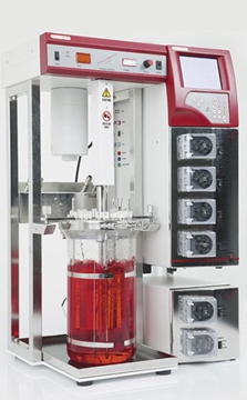4 Pump Bench-Top FerMac 310/60 Bioreactor System Specialists
