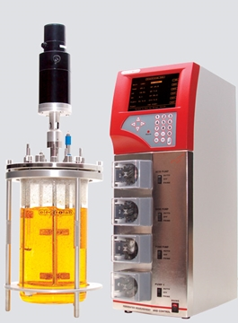 Bench-top FerMac 320 Bioreactor Control System Specialists