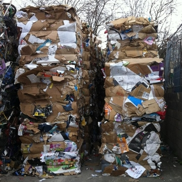 Cardboard Waste Recycling Collection and Rebate Services