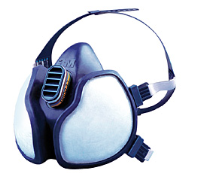3m 4277 Face Mask FFABE1P3D 4277