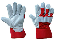 100 Pairs Canadian High Rigger Gloves Qual B-Flex Red CANCHQP
