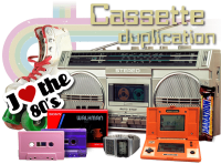 High Quality Of Custom Compact Cassette Tap Duplication In Hampshire