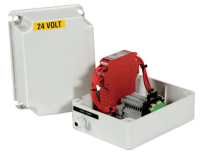 Emergency box module controlled micro