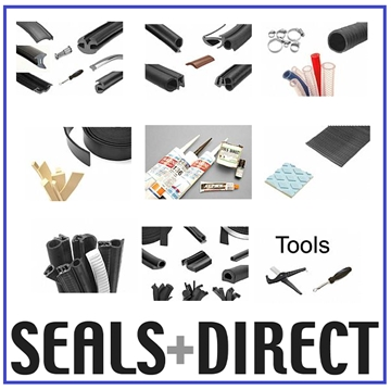 Wedge Seals and Gaskets for Aluminium, Wood and UPVC Windows and Doors TFS3298