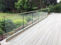 Installations Of Framless Glass Balustrades With Top Rail