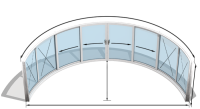 Curvaglide Curved Sliding Doors W8-4F Specialist