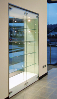 Glass Wall Office Display Cabinets