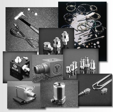 Charge Triaxial Products For Test and Measurement Applications