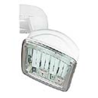 228021 Lux 49 IP54 Display Lamp In White