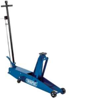 Draper 48350 3 Tonne Long Chassis Hydraulic Trolley Jack With A Quick Lift Facility