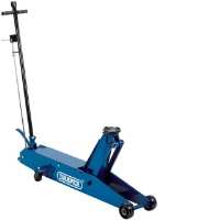 Draper 48357 5 Tonne Long Chassis Hydraulic Trolley Jack With A Quick Lift Facility
