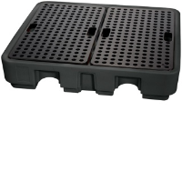 Draper 44059 Four Drum Spill Containment Pallet