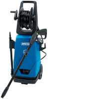 Draper 14433 2100w 230 Volt Pressure Washer With Total Stop Feature
