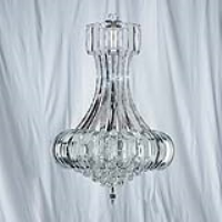 Searchlight 30021CC Sigma 6 Light Chrome Finish Chandelier