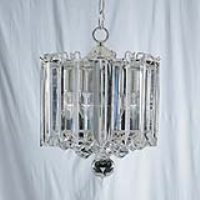 Searchlight 6713CC Sigma 3 Light Chrome/Acrylic Pendant Light