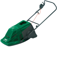 45536 230v 300mm 1275w Hover Mower With A Grass Collection Box