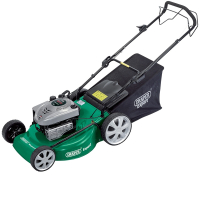Draper 76793 560mm 5.5HP Self Propelled Petrol Lawn Mower With Ready Start Engine