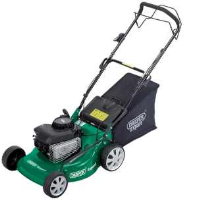 Draper 76791 460mm 4HP Petrol Lawn Mower With Briggs And Stratton Engine