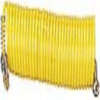 "Draper 52662 1/4"" BSP x 7.6M Nylon Recoil Air Hose"