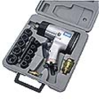 "Draper 55360 15 Piece 1/2"" Square Drive Heavy Duty Air Impact Wrench Kit"