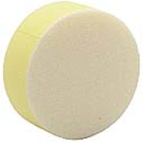 48199 90mm Polishing Sponge In A Yellow/Coarse Colour