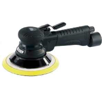 47622 Expert 150mm Composite Body Dual Action Soft Grip Air Sander