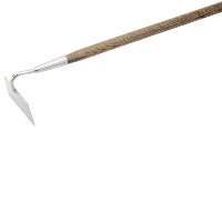 Draper 44982 Stainless Steel Draw Hoe With FSC Ash Handle