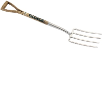 Draper 44971 Stainless Steel Garden Fork With FSC Ash Handle