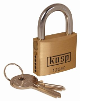 125 40mm Premium Brass Padlock - Semi Assembled K12540SA
