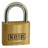 125 Premium Brass Padlocks - Keyed Alike To Sample Key