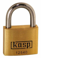 125 Premium Brass Padlocks - Stainless Steel Shackle