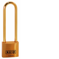 125 30mm Premium Brass Padlock - Long Shackle K12530L70BD