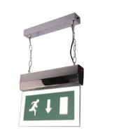 EML 8MHP 8W Maintained Hanging Exit Sign