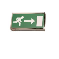 EML EX8NM Non Maintained Emergency Exit Box Sign
