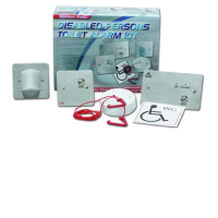 C-Tec NC951/SS Stainless Steel Disabled Persons Toilet Alarm