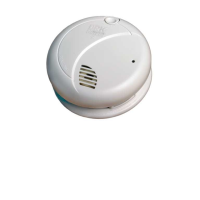 BRK 710E 9V Battery Powered Photoelectric Smoke Alarm