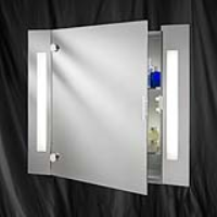 Searchlight 6560 Mirrored Bathroom Cabinet