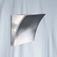 Searchlight 3452SS Satin Silver Wall Light