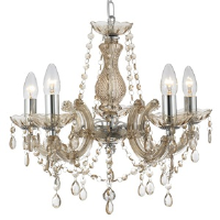 Searchlight 699-5MI Marie Therese 5 Light Chandelier