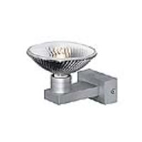 151112 Ives I ES111 Wall Light In Silver Grey