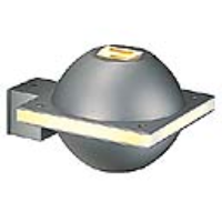 151751 UFO BEAM IP44 Wall Light