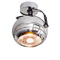 149042 Light Eye GU10/ES111 75W Chrome Ceiling Light