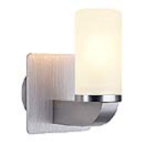 147489 Nara G9 Brushed Aluminium Wall Light