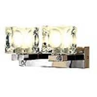 151260 Blox II Twin G9 Chrome Wall Light